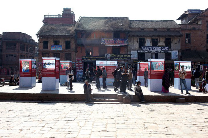 @ Nyatapol square, Bhaktapur.