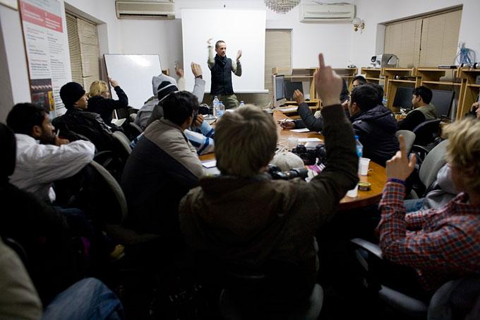 Workshop with Philip Blenkinsop